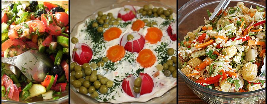 Ciekawe pomysły na sałatke warzywną
